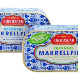 King Oscar finds a new opening for its mackerel can