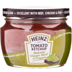 New 300g Heinz glass jar