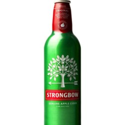 Australian packaging first for Strongbow cider