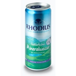 The can reclaims mineral water in Germany