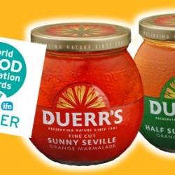 New Duerrs Citrus Jar wins Best Packaging Design at World Food Innovation Awards