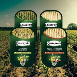 Ardagh's can shows off the quality of Bonduelles Cassegrain