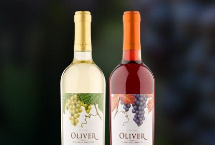 Ardagh Groups premium look wine bottles for Oliver Winery