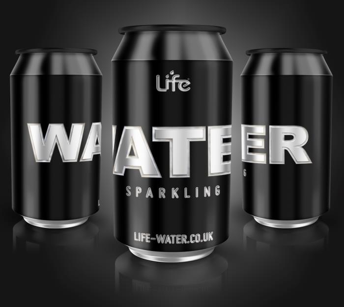Super-sustainable Life Water launches sparkling canned spring water